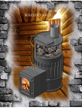 Банные печи KALEDO с корпусной закрытой каменкой