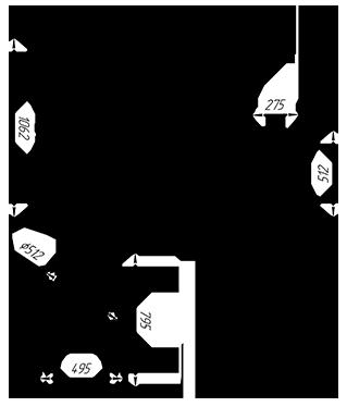 Чугунная  банная печь KALEDO ANTIC KA2235