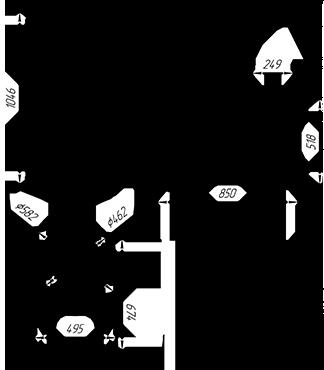 Банная печь KALEDO ANTIC KA2235/2