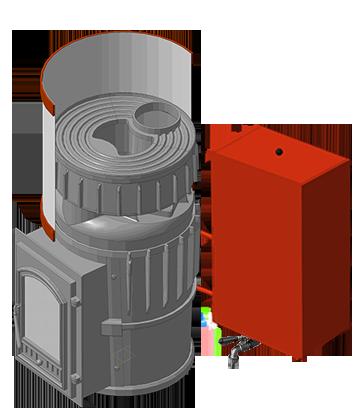 Банная печь KALEDO CLASSIC KC200-80