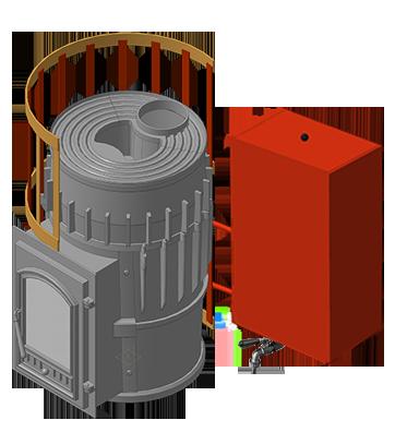 Банная печь KALEDO CASSIC KC180/1-80