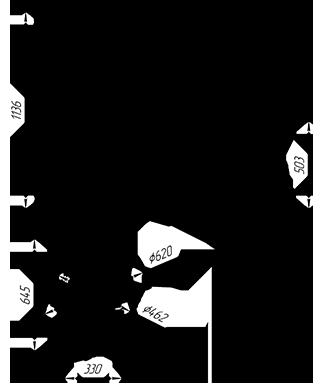 Банная печь с закрытой каменкой KALEDO EVOLUTION KE208/3