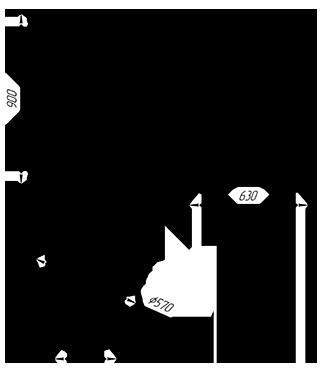 Банная печь KALEDO MINI CS KI160/1-80