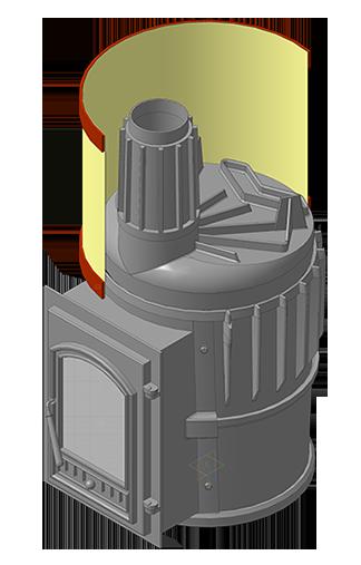Банная печь KALEDO MINI CLASSIC 16 кВт