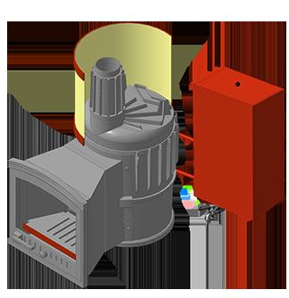 Банная печь KALEDO MINI VS KS163-80