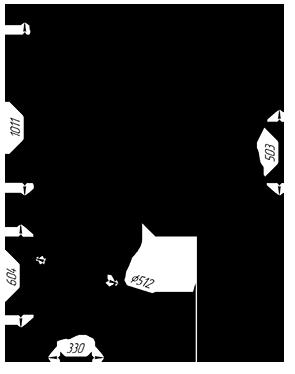 Чугунная  банная печь KALEDO RETRO KR207