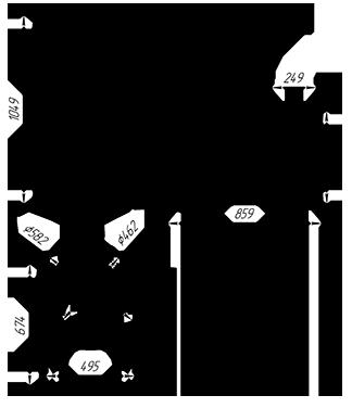 Чугунная  банная печь KALEDO RETRO KR2537/2