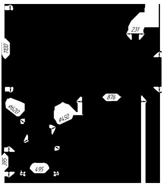 Чугунная  банная печь KALEDO VISIO  KV3031/3-80