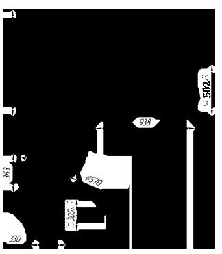 Чугунная банная печь KALEDO MODERN L KM2520/3